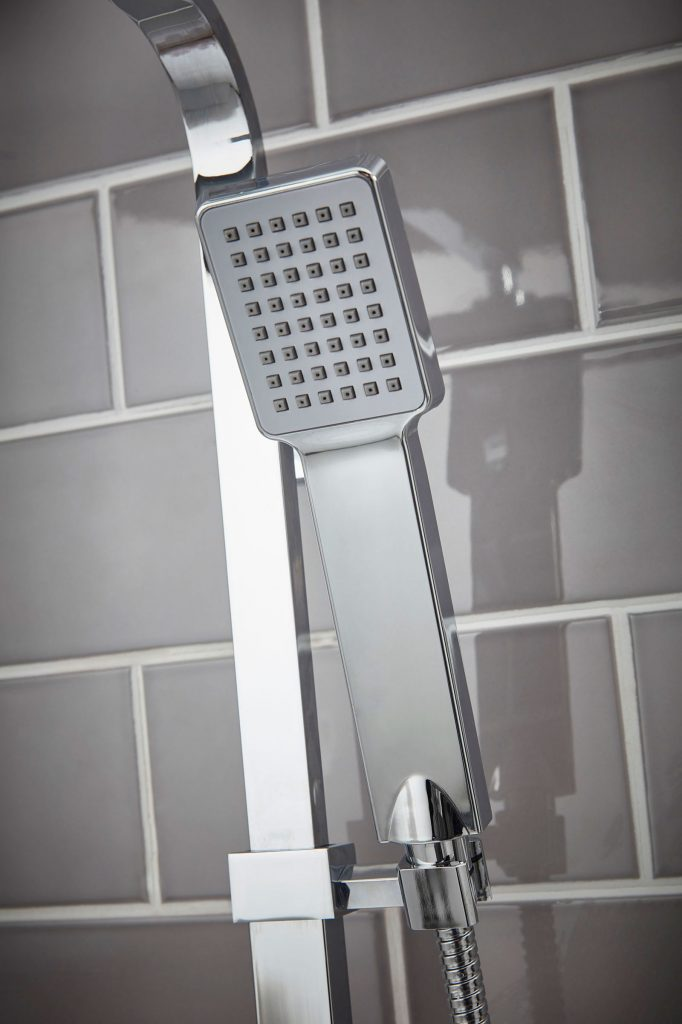 Shower-Detail product photographer - room set photography