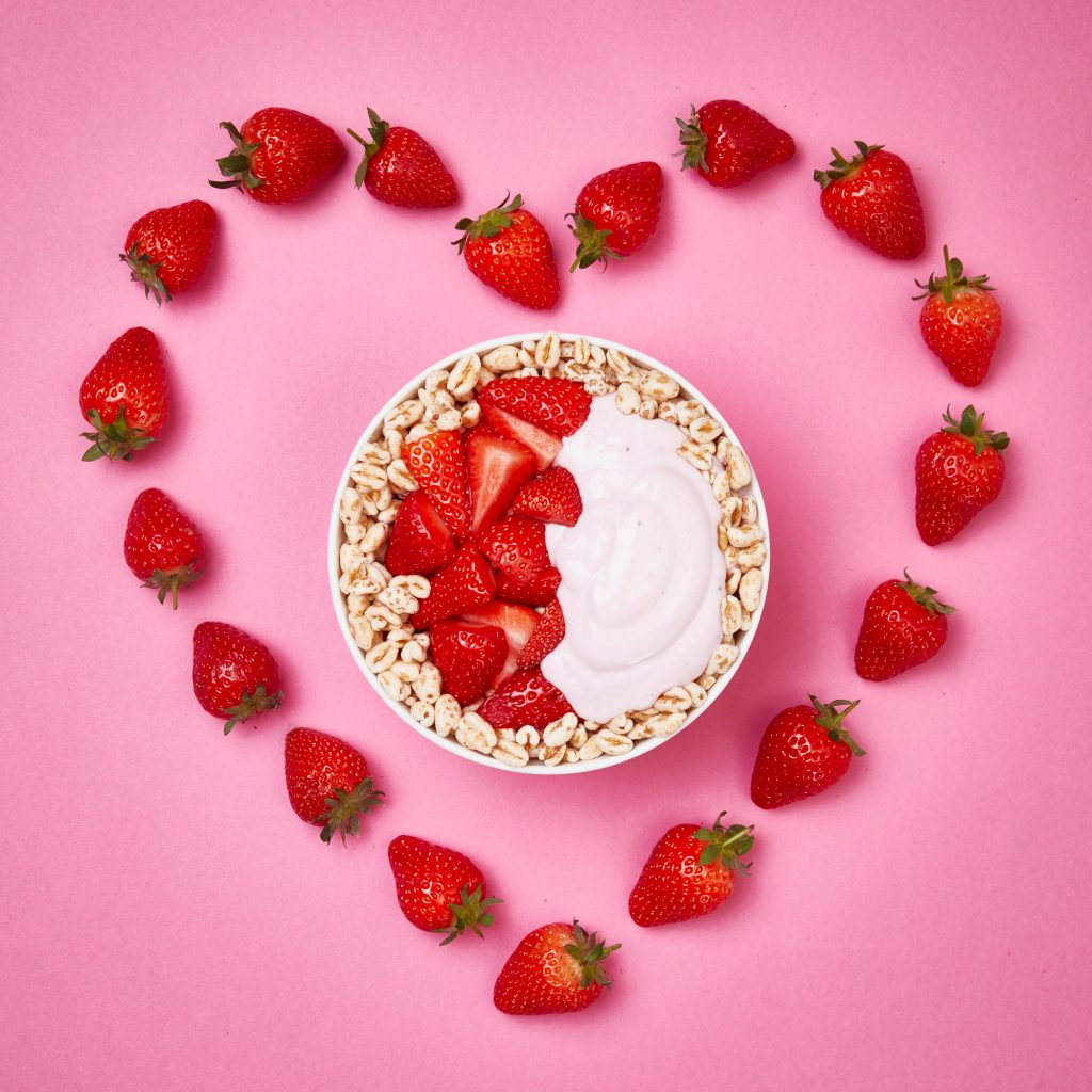 Strawberry-Heart-Bowl